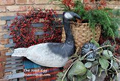 Vintage goose decoy