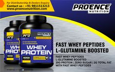 Build muscle by complementing your bodybuilding diet with the best whey protein powders.