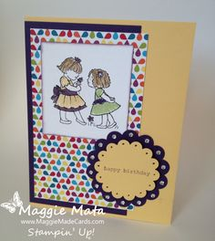 Stampin' Up! Little Friends