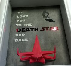 Star Wars Father's Day Gift From Wife From Fiance by TheCenterFold Gifts For Your Girlfriend, Daddy Gifts, Boyfriend Gifts, Star Wars Birthday, Star Wars Party, Birthday Fun, Fathers Day Crafts, Gifts For Father, Daddy Day