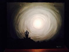 Hey, I found this really awesome Etsy listing at https://www.etsy.com/listing/208197074/acrylic-paint-and-indian-ink-yoga