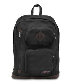 Jansport Houston Backpack - Black Available at: www.canadaluggagedepot.ca