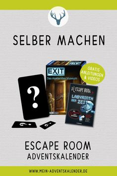 Escape Room, Geocaching, Hobbies And Crafts, Christmas Presents, Gifts For Friends, Happy Birthday, Creative, Winter, Party