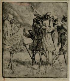 William Strang, Danse Macabre