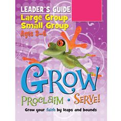 Large Group/Small Group Ages 3–6