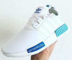 "san francisco d8299 a11e9 adidas NMD Runner City Pack ""Sao Paolo"" – All White  Sky Blue White"