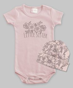 Tesa Babe Rose  Little Sister  Bodysuit   Sweet Tweet Beanie - Infant 37d939589b8