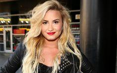 Lindo esse cabelo da Demi Lovato