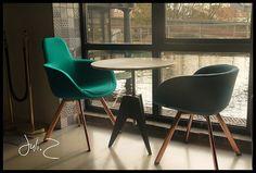 Restaurant I Office I Interior I Furniture I Eating I Scoop Chair by Tom Dixon