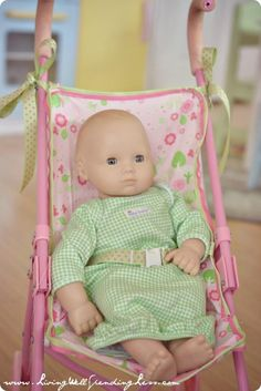 DiY Replacement Doll Stroller Seat DIY Dollhouse DIY Toys DIY Crafts