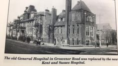 The old Hospital on Grosvenor Road which was built in 1842.