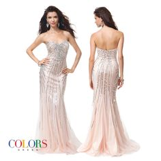 All That Glitters! COLORS DRESS Style 1166