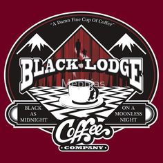 Twin Peaks shirt: Black Lodge Coffee