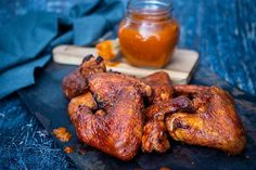 Check out this delicious recipe for Jack Daniel's Smoky Wings from Weber—the world's number one authority in grilling. Weber Recipes, Weber Bbq, Wing Recipes, Gluten Free Chicken, Smoking Meat, Jack Daniels, Tandoori Chicken, Poultry, Grilling