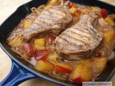 Plum Drunk Pork Chops   Cavegirl Cuisine