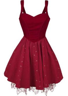Through The Looking Glass - Red Queen Dress - Medium-length dress by Alice In Wonderland