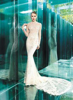 YOLAN CRIS Bridal Collection 2015 | Vintage Couture - Tamara