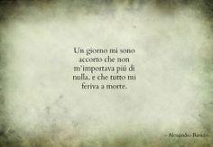 - Alessandro Baricco