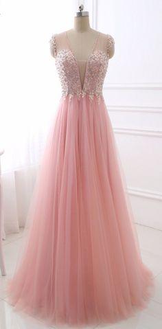 Sexy V Neck Evening Dress Erosebridal Sparkly Beading Long Prom Party Gowns  Backless A Line Vestido De Festa Sleeveless 62307da4c6ca