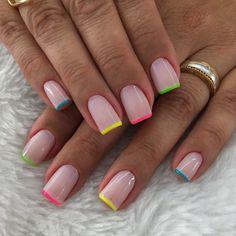 Nail Manicure, Toe Nails, Pink Nails, French Gel, French Tip Nails, Stylish Nails, Trendy Nails, Minimalist Nails, Dream Nails