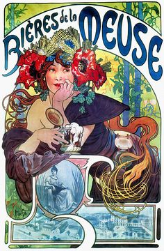 The Art Nouveau movement was a reaction to the ending of the strict Victorian period. And was reflected in all design areas...apparel, jewelry, architecture, and usable objects.