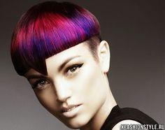 Картинки по запросу Цветное марморирование волос