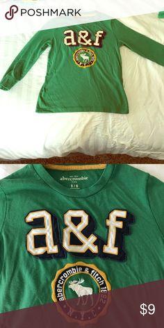 Kids Abercrombie Long Sleeve Size 5/6 SALE $9 Kids Abercrombie Long Sleeve Size 5/6 *** SALE $9*** abercrombie kids Shirts & Tops Tees - Long Sleeve