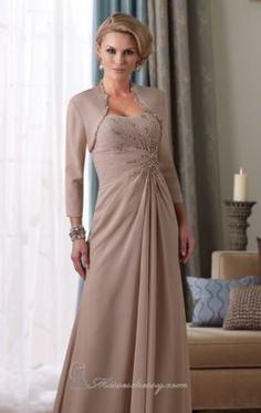 Chiffon Dress by Mon Cheri Montage 212946