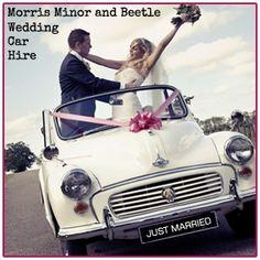 Wedding Car Hire, Our Wedding, Morris Minor, Vw Beetles, Norfolk, Volkswagen, Transportation, Champagne, Stylish