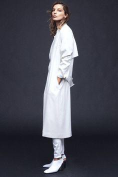 Jacket for spring (Daria Werbowy).