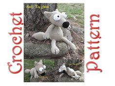 Wolferine A Back to Basics Crochet Pattern by Erin Scull Crochet Wolf, Pattern Design, My Design, Single Crochet Decrease, Dolls For Sale, Back To Basics, Slip Stitch, Toy Store, Etsy Seller