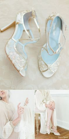 bella belle bridal shoes 2016 tess embroidered gold strappy peep toe wedding heels