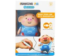 Educational Creative Pen Inductive Toy Pig——Second half price – Deals-o-saur Cute Pigs, Packaging, Ready To Play, Marker Pen, Learn To Draw, Fine Motor Skills, Line Drawing, Kids Learning, Gifts For Kids