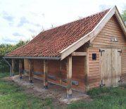 houten stalletje