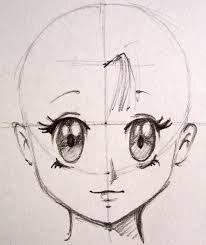 desenhos de rosto de anime - Pesquisa Google