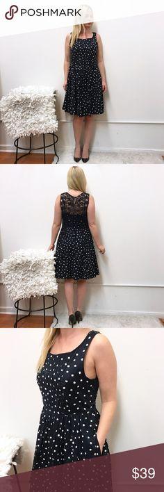 """Anthropologie Moulinette Soeurs Polka Dot dress 10 Anthropologie dress. Sz 10. Chest flat across 18.5"""" length 36"""" Anthropologie Dresses"""