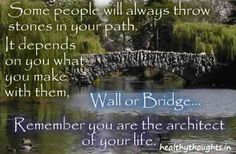 Life quotes_You are the architect of your life