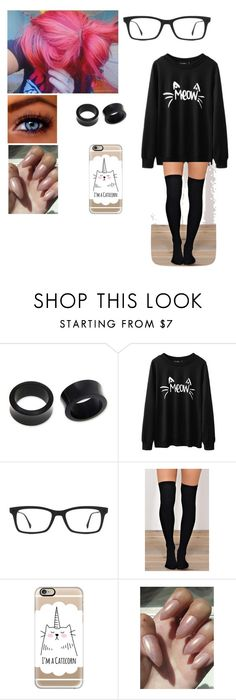 """Lazy Day w/ Nate Maloley"" by mell-rosee ❤ liked on Polyvore featuring NOVICA, Ray-Ban and Casetify"