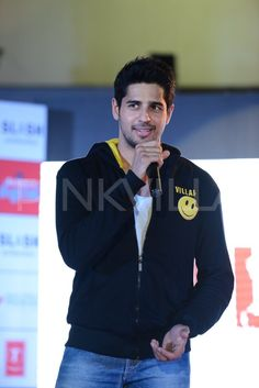 Sidharth Malhotra attended a musical event of his forthcoming movie 'Ek Villain' at an event held in Mumbai.