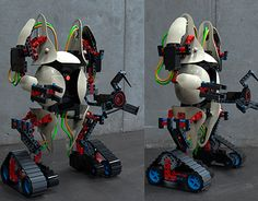 """Check out new work on my @Behance portfolio: """"Robot YOLO 2.0"""" http://be.net/gallery/49341193/Robot-YOLO-20"""