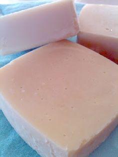 Homemade Blender Moisturizing Soap