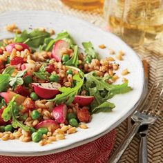 Main Dish and Side Salads on Pinterest | Food Dinners, Spring Salad ...