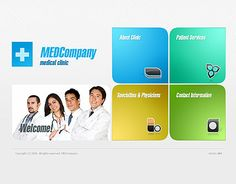 MEdCompany website template