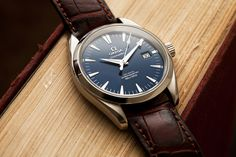 Omega Aqua Terra in Blue | Flickr - Photo Sharing! Just one of the few on Shane Lin's Flickr page