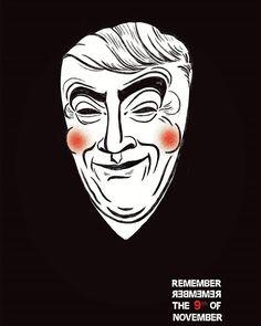 #remember remember the 9th of November. #us #mocked #trumped  @thekairospictures  #illustration #illustrationgram #US #election2016 #donaldtrump #trump #vendetta #vforvendetta #shock #republican #art  #politics #america #artofvisuals #artoftheday #instart #instartist #instagram #doubletap #like4like #artgram #instadaily #instagood #poster #11/9
