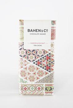 // bahen & co. | almond & sea salt chocolate | otis & otto