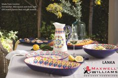 HAVING AN OUTDOOR PARTY FOR THE MASSES?  TRY THE NEW MAXWELL & WILLIAMS LANKA RANGE #HOMEetc #LANKA #ARRIVINGINSTORESSOON www.homeetc.co.za Will only be available at HOME etc Canal Walk, Longbeach, Menlyn, Centurion, Lifestyle, Woodmead, The Glen, Woodlands, Cradlestone, Fourways, Park Meadows, Gateway, Shelly Beach, Midlands, Hillcrest. Arriving 1st week April 2017