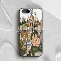 Fairy Tail Manga Collage iPhone 5|5S|SE Case | armeyla.com
