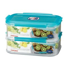 Lock & Lock Stackable Containers are made to save you space!
