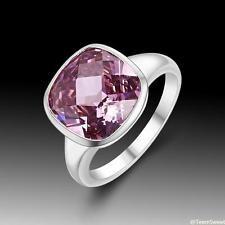 Unique Jewelry - New Sweet Friendship Jewelry Pink Kunzite Quartz S80 Silver Ring size 9